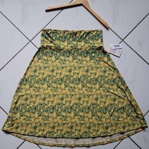 Lularoe 💜 BNWT Azure  Circle Skirt Stretchy Simpl
